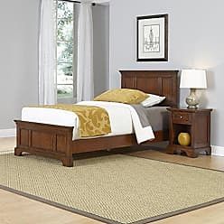 Home Styles Chesapeake Cherry Finish Twin Bed and Night Stand by Home Styles
