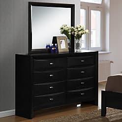 Round Hill Furniture Blemerey 8 Drawer Dresser - B110DM