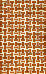 Momeni Rugs LAGUALG-02ORG2030 Laguna Collection, 100% Wool Hand Woven Flatweave Contemporary Area Rug, 2 x 3, Orange