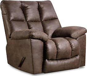 United Furniture Simmons Upholstery Lattimer Rocker Recliner - U694-19 LATTIMER COCOA