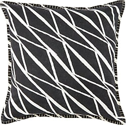 Jaipur Living Rugs Cosmic by Nikki Chu Abstract Lines Indoor Throw Pillow Almost Apricot - PLW102982