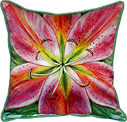 Betsy Drake SN701 Pink Lily Small Indoor/Outdoor Pillow 12 x12