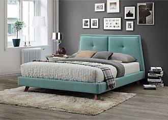 Omax Decor OMAX Decor Kenzie Platform Bed Light Gray - BU1021LG