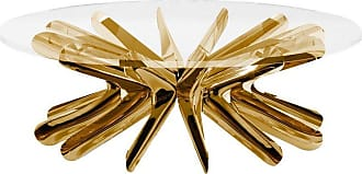 Zieta Limited Edition Medium Steel In Rotation Coffee Table In Lacquered Copper, Zieta