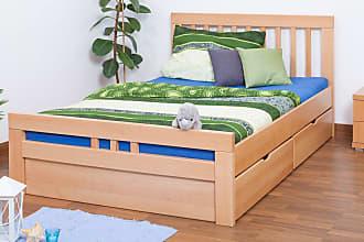 6d517fb450 Steiner Shopping Möbel Einzelbett / Funktionsbett Easy Premium Line K8 inkl.  2 Schubladen und 1