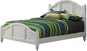 Home Styles Bermuda White Queen Bed by Home Styles