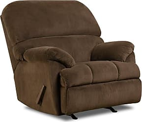 United Furniture Simmons Upholstery Dover Rocker Recliner - 8043P-19 DOVER COFFEE