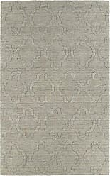 Kaleen Rugs Imprints Modern Hand-Tufted Area Rug, Oatmeal/Light Grey, 5 x 8