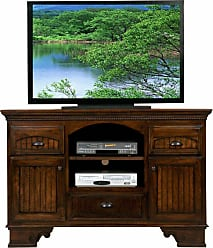 Eagle Furniture American Premiere 58 in. Entertainment Console with 3 Drawers - 16057WPAS