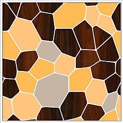 Ptm Images Geode Orange Framed Canvas Wall Art - 9-120819