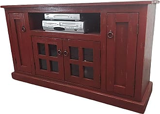 American Heartland 57.5 in. Rustic TV Stand - Assorted Finishes - 30855RAM