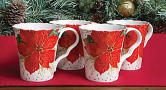 222 Fifth Winter Confetti Mugs (Pack of 4)