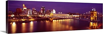 Great Big Canvas Cincinnati Ohio River Canvas Wall Art Print - 41264_24_36X12_NONE