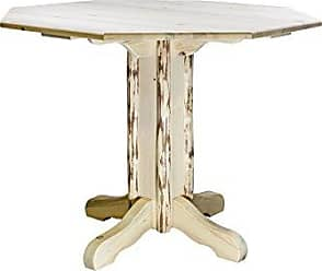 Montana Woodworks MWPTTV36 Montana Collection Counter Height Pub Table, Clear Lacquer Finish