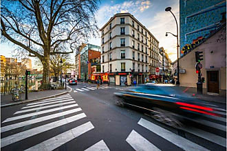 Noir Gallery Intersection in Paris France Canvas Wall Art - PARFR-03-TW-08