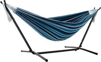 Ashley Furniture Patio Double Hammock with Stand, Blue