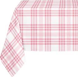 Kavka Designs Pink Plaid Tablecloth - TBC-SPLLT-70X90-NOR038