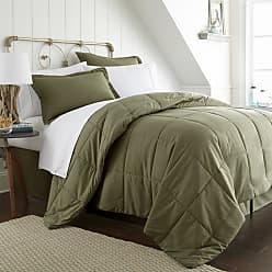 Noble Linens Solid Comforter Bed in a Bag by Noble Linens Chocolate, Size: Twin XL - NL-MULTI-TWINXL-CHOCOLATE