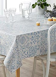Simons Maison Andalusian tiles coated tablecloth