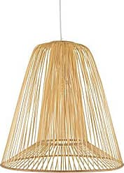 KOUBOO Kouboo 1050109 Bamboo Double Cone Pendant, Natural, Large Ceiling Lamp