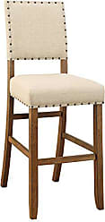 FURNITURE OF AMERICA 24/7 Shop at Home 247SHOPATHOME IDF-3324BC Dining-Chairs, Natural Tone