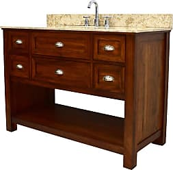 222 Fifth Nelson Rectangular Single Sink Bathroom Vanity - 7044BR900C1J13