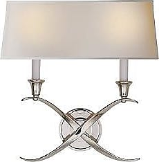 Visual Comfort Cross Bouillotte Wide Wall Sconce