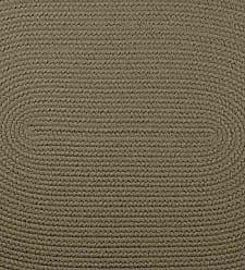 Rhody Rug 26 x 86 Indoor / Outdoor Braided Roanoke Runner, Solid Moss