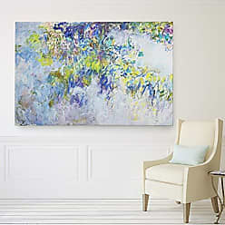 WEXFORD HOME Wisteria Multicolored Canvas Artwork Art Print