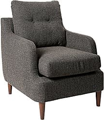 Homelegance Ella Martin Fabric Accent Chair, Gray