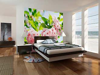 Ideal Decor Sakura Blossom Wall Mural - DM133