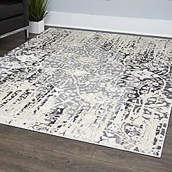 Home Dynamix 530-451 Nevis Vintage Area Rug, 79x102, Gray