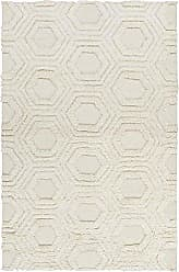 Surya KAB8017-58 Hand Woven Casual Area Rug, 5 by 8-Feet, Ivory