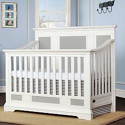 Évolur Parker 5-in-1 Convertible Crib Winter White - 842-W