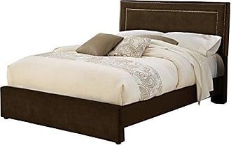 Hillsdale Furniture Hillsdale Furniture 1554BKRA Amber Bed Set, King, Chocolate
