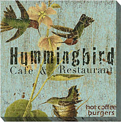 West of the Wind Hummer Cafe Wall Art - 24W x 24H in. - 80418-24