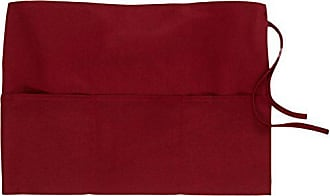 Winco USA Winco WA-1221R 3-Pocket Waist Apron, Burgundy