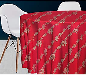 Polyester Rouge 40 X 180 cm Soleil docre Galaxy Chemin de Table