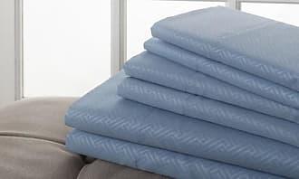 C&A Hotel Home Soft Microfiber Sheet Set 6 Piece - Light Blue - Size: King Unbranded