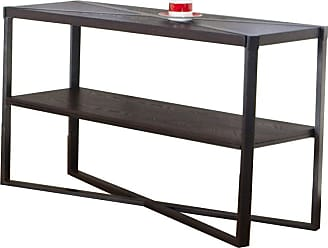 United Furniture Mixed Media Rectangle Console Table - Java - 7312-49