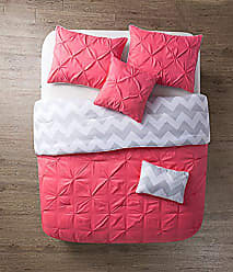 VCNY Home VCNY 5 Piece Jana Reversible Comforter Set, Full/Queen, Coral