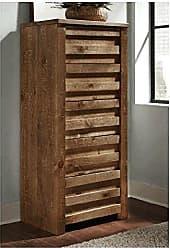 Progressive Furniture P604-13 Melrose Lingerie Chest, 24 x 18 x 53, Driftwood