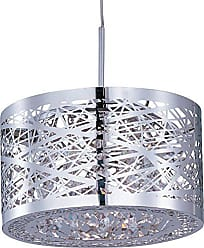 Maxim Lighting ET2 Lighting EP96070-10PC Pendant with Metal Shade, Polished Chrome Finish