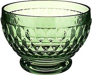 Villeroy & Boch Boston Glass Bowl Set of 4, Green
