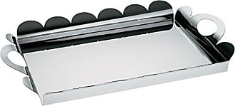 Alessi AM02Recinto Rectangular Tray, Silver