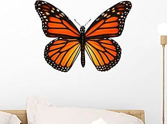Wallmonkeys Another Monarch Butterfly Wall Mural Peel and Stick Graphic (18 in W x 14 in H) WM347745