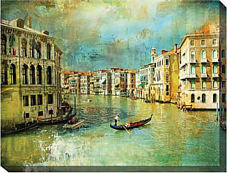 West of the Wind Il Gondoliere Canvas Art - 40 x 30 in. - OU-79134