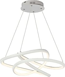 ET2 E30644 Twisted 24-1/2 Wide Integrated LED Chandelier with