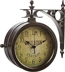 Infinity Instruments Infinity Indoor/Outdoor 8 The Charleston Double Sided Clock & Thermometer - 12430CT-RUV2
