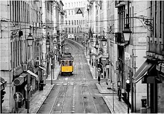 Ideal Decor Streets of Lisbon Wall Mural - DM971